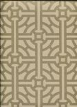 Savile Row SketchTwenty3  Wallpaper Fretwork Gold SR00505 By Tim Wilman For Blendworth
